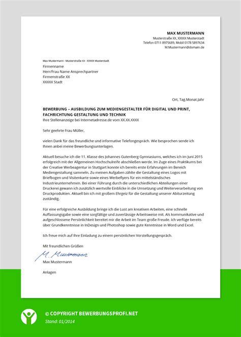 Bewerbungsschreiben In Bewerbungsschreiben Ausbildung Praktikum Bewerbungsprofi Net