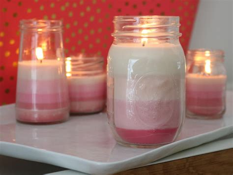make candles learn how to make ombre striped candles diy network blog