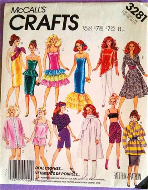 fashion doll 1980s 1000 images about mccalls patterns 1980 s on