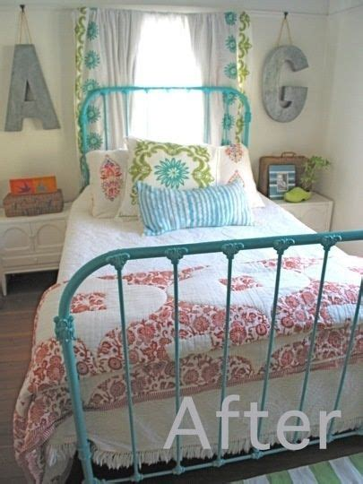 Painted Metal Bed Frame Other Pinner Wrote Metal Bed We One From When My Was A Boy Exactly Like This But