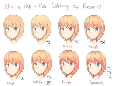 how to color from hair step by step hair coloring sai by yukkachan121 on