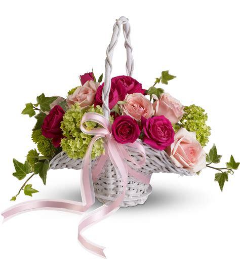 wedding flower basket wedding