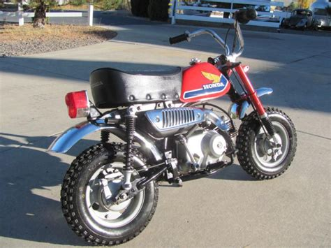 restored 1977 honda z 50 z50 mini trail 50 for sale on