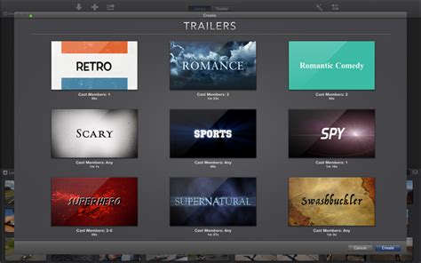 imovie trailer templates 10 awesome features in the new imovie