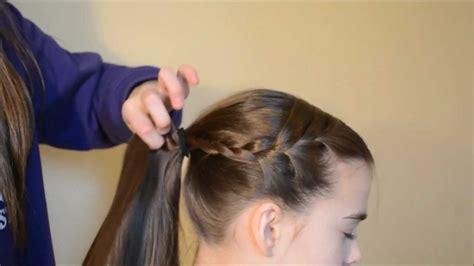 gymnastics meet hair youtube