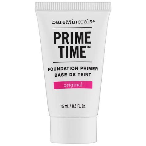 Coming Soon Prime Time Primer From Bare Escentuals by Bare Minerals Prime Time Original Foundation Primer Mini