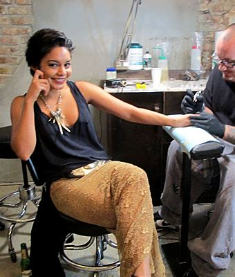vanessa hudgens tattoo hudgens tattoos instyle