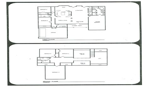 Bonanza House Floor Plan | bonanza ponderosa ranch house plans ponderosa ranch