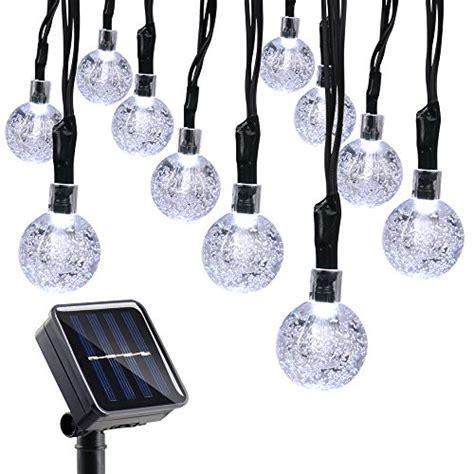 qedertek solar string lights qedertek solar string lights 20ft 30 led outdoor solar