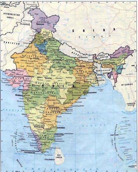 map india india maps printable maps of india for