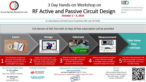 rf layout design basics workshop on rf active and passive circuit design