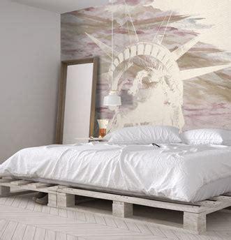 tappezzeria da letto carta da parati da letto di design foto e progetti