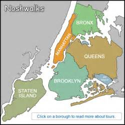 Map Of New York City Boroughs by New York Map Of Boroughs