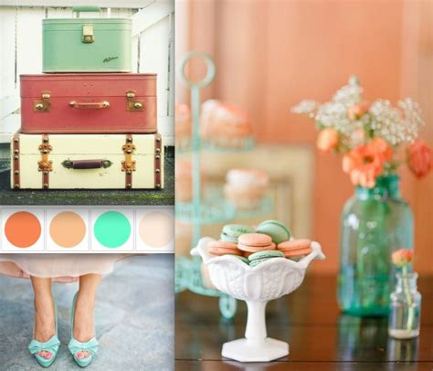 112 best images about coral mint and wedding on