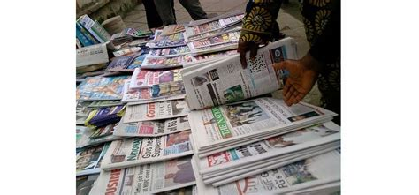 Leadershipng News Updates In Nigeria Nigerian News | nigerian military continues cldown on newspapers
