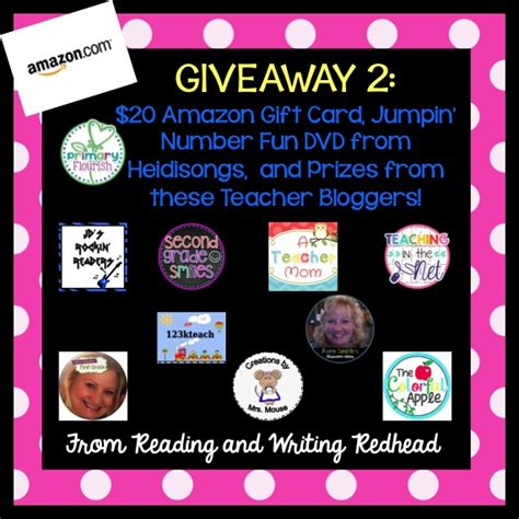Awesome Giveaways - 123kteacher blog mega giveaway awesome prizes