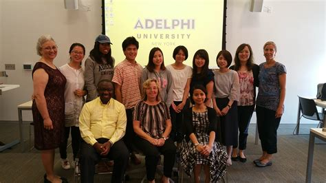 Adelphi Mba Management by An East West Exchange Of Social Work Ideas At Adelphi