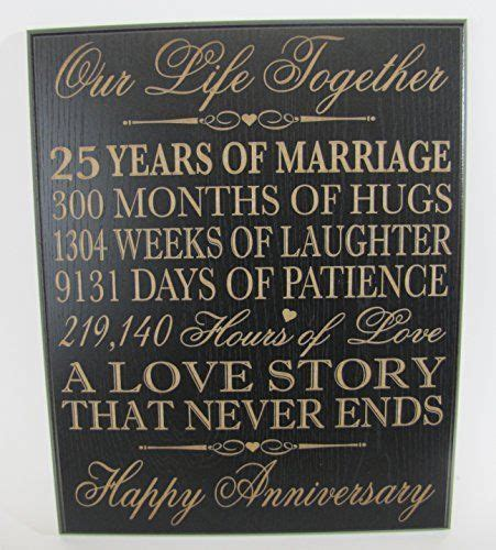 best 25 25th anniversary gifts ideas on 40th wedding anniversary gift ideas diy