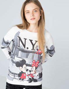 Bershka Sweatshirt Mickey Print graphics 15 16 on