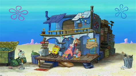 trash house spongebob and patrick s trash house encyclopedia
