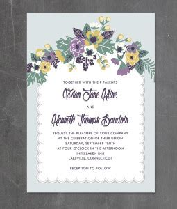 a7 scallop cards template artisan botanical order individual templates