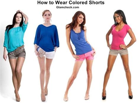 colored shorts colored shorts how to wear