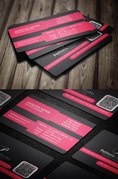 cool business card templates psd free business cards psd templates mockups freebies