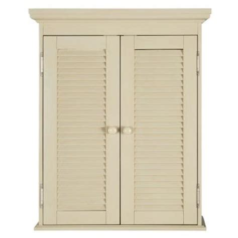 antique white bathroom wall cabinet home decorators collection cottage 23 3 4 in w wall