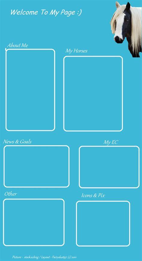 layout html howrse howrse layout 1 by fairydust97 on deviantart