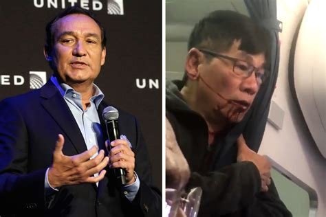 oscar munoz united ceo united airlines ceo blames the passenger in forced removal
