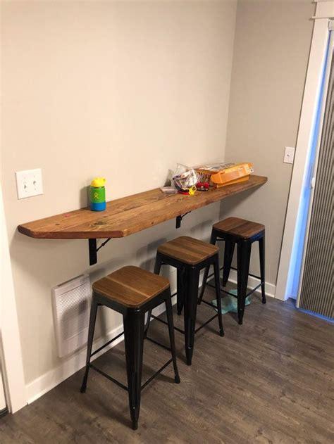 kitchen dining wall mounted barhandmade industrial metal