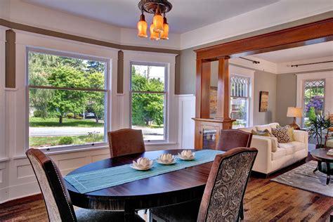 bellevue house craftsman dining room seattle