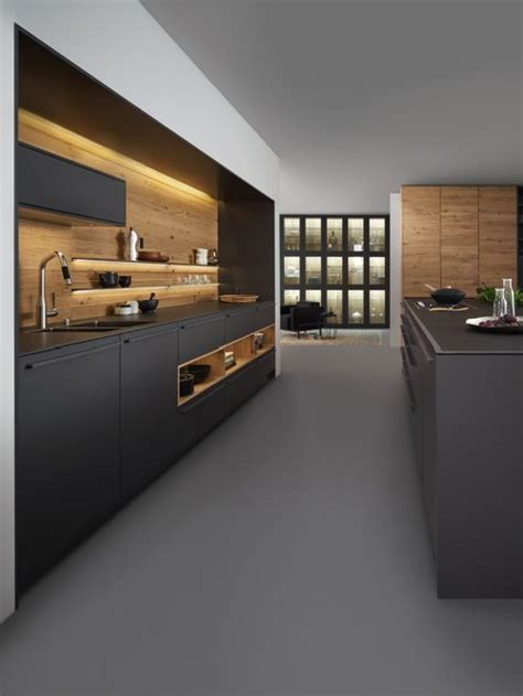 contemporary kitchen with flat panel cabinets by david best modern kitchen with flat panel cabinets design ideas