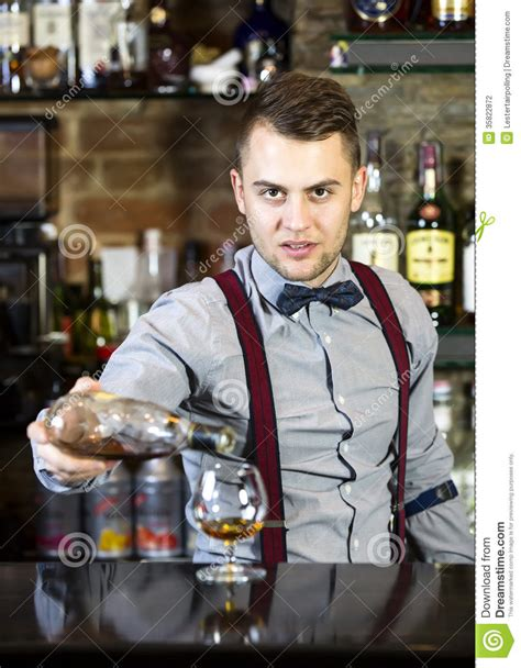 bartender photography bartender stock photography image 35822872