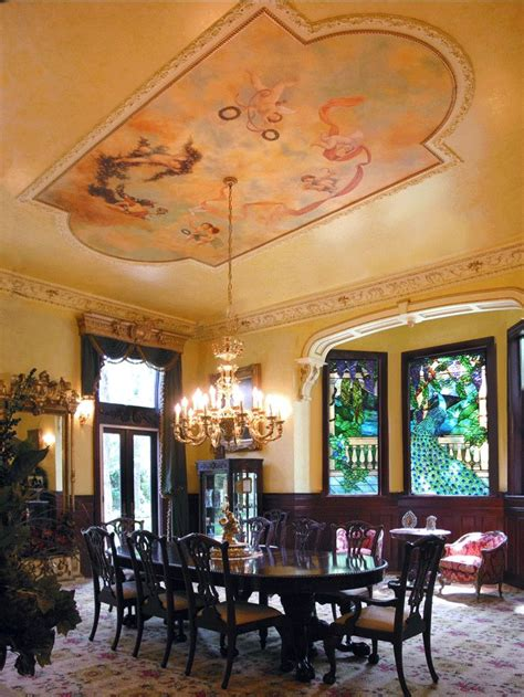 dining room murals 25 best ideas about victorian dining rooms on pinterest