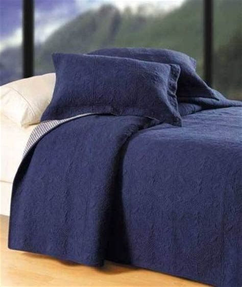 blue matelasse coverlet navy blue matelasse full queen quilt set cotton denim
