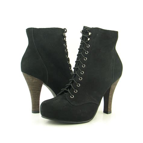 restricted combat boots ankle shoes black womens sz ebay