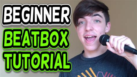 tutorial beatbox 8 how to beatbox beginner beats tutorial youtube