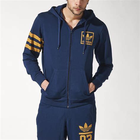 Jaket Hoodie Zipper Adidas jual jaket hoodie original adidas 3foil fz zipper