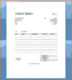 doc 585670 credit memo template credit memo template