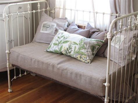 How To Convert Crib To Daybed Best 25 Iron Crib Ideas On Vintage Crib Cribs And Peppercorn Sherwin Williams