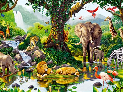 animal jungle jungle animals seven wallpapers jungle animals seven