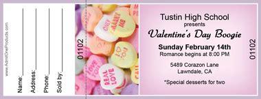 free printable valentine raffle tickets valentine s day raffle tickets