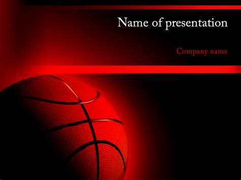 Basketball Powerpoint Presentation Download Free Basketball Powerpoint Template For