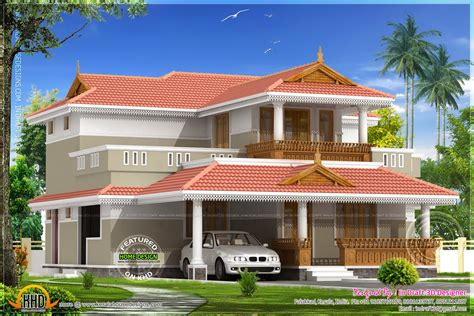 kerala model house design kerala model house 2226 square feet kerala home design and floor plans