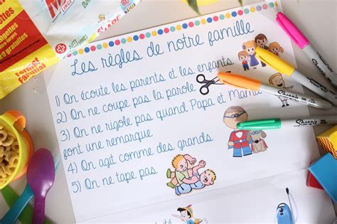 Regle De La Maison A Imprimer by Les Regles De La Maison A Imprimer Avie Home