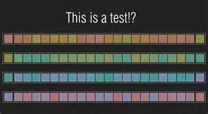 color hue test color test for hue perception