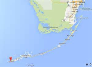 where is key west on map of florida world easy guides