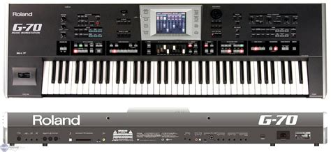 Keyboard Roland G70 user reviews roland g 70 audiofanzine