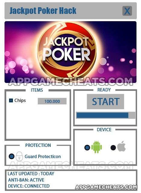 jackpot poker hack  chips   jackpot poker pokerstars